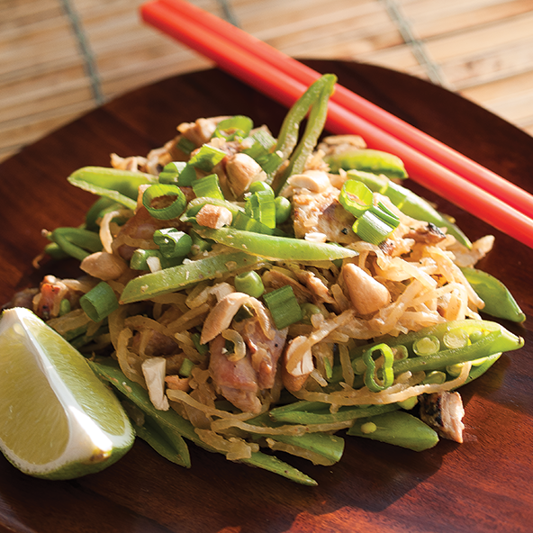 Pad Thai with Sunflower Seed Butter Sauce | meljoulwan.com