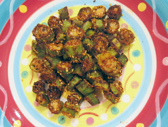 how to best cook okra