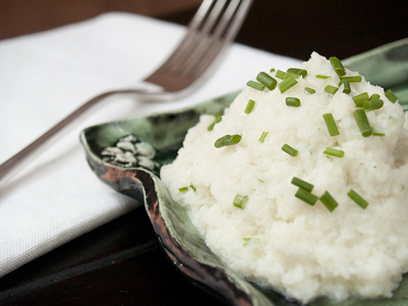 Mashed Cauliflower | meljoulwan.com