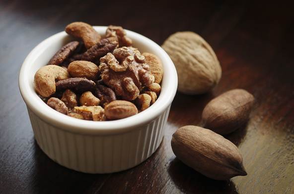 A Ramekin Filled with Spiced Nuts | meljoulwan.com