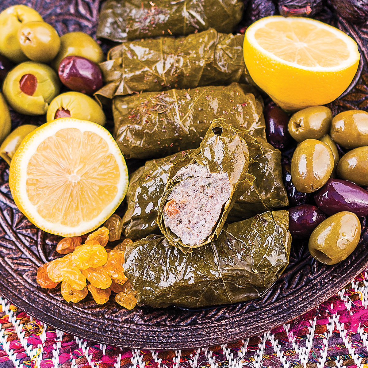 Paleo Stuffed Grape Leaves Dolmas