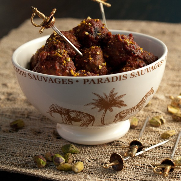 Tender lamb meatballs cloaked in a perfectly-spiced tomato sauce. Why ...