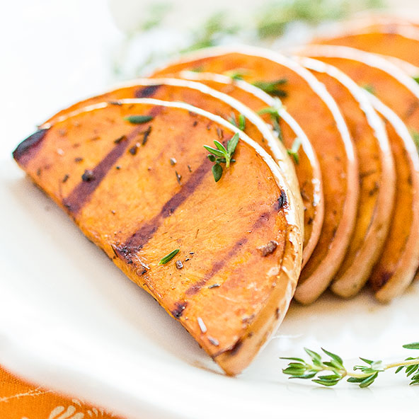 Balsamic-Grilled Butternut Squash