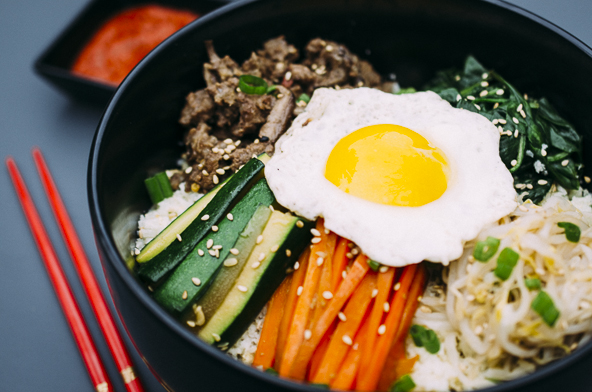 ... you can make it at home here s my take on the korean classic bibimbap