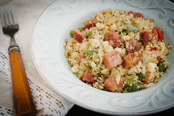 Creole Ham and Rice | meljoulwan.com